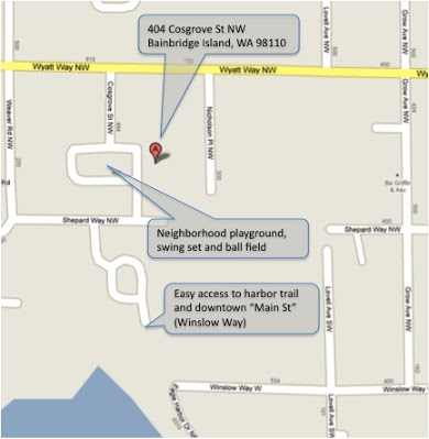 404 Cosgrove Walking Map