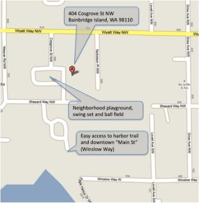 404 Cosgrove Walking Map
